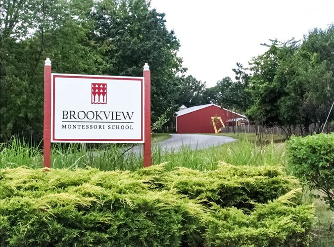 Brookview Montessori School Entrance